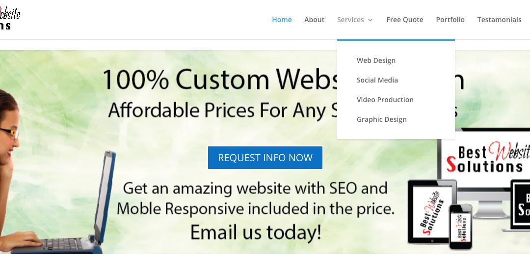 Slider for Key Elements of a Modern Successful Website